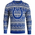 Indianapolis Colts Aztec NFL Ugly Crew Neck Sweater by Forever Collectibles