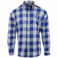 Indianapolis Colts NFL Checkered Men's Long Sleeve Flannel Shirt