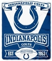 Indianapolis Colts NFL Fleece Throw Blanket