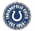 Indianapolis Colts NFL Wall Decor Bottlecap Collection by Forever Collectibles