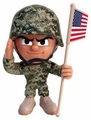 Infantryman Series 1 Lil' Troops Offically Licensed U.S. Army Action Figures
