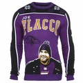 Joe Flacco #5 (Baltimore Ravens) NFL Player Ugly Sweater