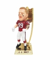 J.J. Watt 2014 NFL Defensive Player of the Year Trophy Base Bobble Head Exclusive Forever #/500