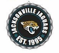 Jacksonville Jaguars NFL Wall Decor Bottlecap Collection by Forever Collectibles