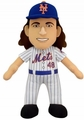 "Jacob deGrom (New York Mets) 10"" MLB Player Plush Bleacher Creatures"