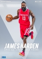 "James Harden (Houston Rockets) 1/9th Scale 8"" Action Figure Enterbay"