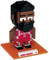 James Harden (Houston Rockets) NBA 3D Player BRXLZ Puzzle By Forever Collectibles