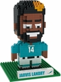 Jarvis Landry (Miami Dolphins) NFL 3D Player BRXLZ Puzzle By Forever Collectibles