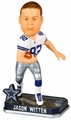 Jason Witten (Dallas Cowboys) Forever Collectibles 2014 NFL Springy Logo Base Bobblehead