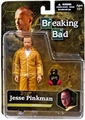 "Jesse Pinkman Breaking Bad 6"" Yellow Hazmat Suit Mezco"