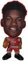 "Jimmy Butler (Chicago Bulls) NBA 5"" Flathlete Figurine"