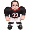 "JJ Watt (Houston Texans) 24"" NFL Plush Studds by Forever Collectibles"