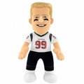 "JJ Watt (Houston Texans) (white jersey) 10"" NFL Player Plush Bleacher Creatures"