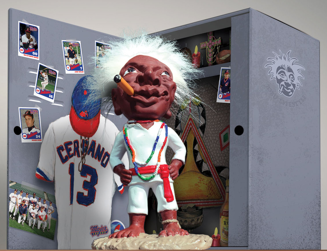 Jobu Officially Licensed (Major League) Movie Replica 10 ...