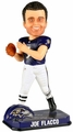 Joe Flacco (Baltimore Ravens) Forever Collectibles 2014 NFL Springy Logo Base Bobblehead
