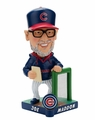 Joe Maddon (Chicago Cubs) 2017 MLB Caricature Bobble Head by Forever Collectibles