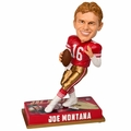 Joe Montana (San Francisco 49ers) 2016 NFL Legends Bobble Head by Forever Collectibles