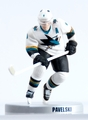 "Joe Pavelski (San Jose Sharks) 2015 NHL 2.5"" Figure Imports Dragon #/2000"
