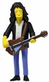"Joe Perry (Aerosmith) The Simpsons 25th Anniversary 5"" Action Figure Series 4 NECA"