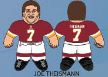 "Joe Theisman (Washington Redskins) 24"" NFL Plush Studds by Forever Collectibles"
