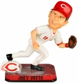 Joey Votto (Cincinnati Reds) Forever Collectibles 2014 MLB Springy Logo Base Bobblehead