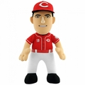 "Joey Votto (Cincinnati Reds) Red Alt Jersey 10"" MLB Player Plush Bleacher Creatures"
