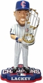 John Lackey (Chicago Cubs) 2016 World Series Champions Bobble Head by Forever Collectibles