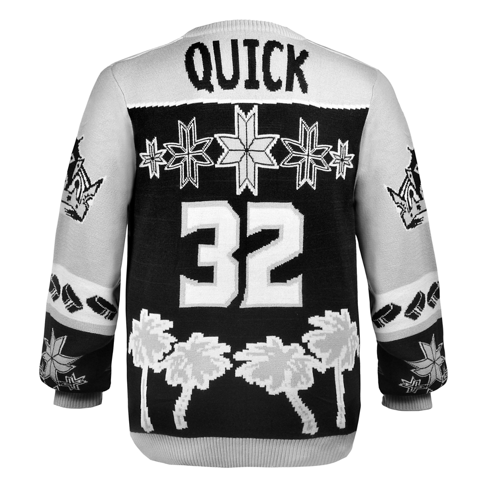 best website 1073e 39faf la kings ugly sweater jersey