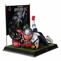"Julian Edelman Super Bowl LI ""Catch"" Resin Statue #/2017 by Forever Collectibles"