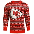 Kansas City Chiefs 2016 Aztec NFL Ugly Crew Neck Sweater by Forever Collectibles
