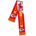 Kansas City Chiefs NFL Big Logo Scarf By Forever Collectibles