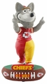 KC Wolf (Kansas City Chiefs) Mascot 2018 NFL Baller Series Bobblehead by Forever Collectibles