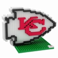 Kansas City Chiefs NFL 3D Logo BRXLZ Puzzle By Forever Collectibles
