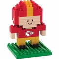 Kansas City Chiefs NFL 3D Player BRXLZ Puzzle By Forever Collectibles