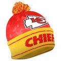 Kansas City Chiefs NFL Camouflage Light Up Printed Beanies