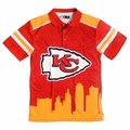 Kansas City Chiefs NFL Polyester Short Sleeve Thematic Polo Shirt