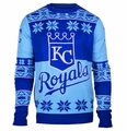 Kansas City Royals Big Logo MLB Ugly Sweater