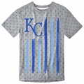 Kansas City Royals Big Logo Flag Tee by Forever Collectibles