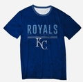 Kansas City Royals Big Logo Half Tone Tee by Forever Collectibles