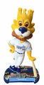 Sluggerrr (Kansas City Royals) Mascot 2017 MLB Headline Bobble Head by Forever Collectibles