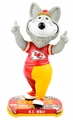 KC Wolf (Kansas City Chiefs) Mascot 2017 NFL Headline Bobble Head by Forever Collectibles