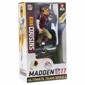 Kirk Cousins (Washington Redskins - Maroon/Beige Uniform) EA Sports Madden NFL 17 Ultimate Team Series 3 McFarlane CHASE
