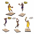 "Kobe Bryant Limited Edition Championship Series Complete Set (5)  7"" Figures #/3000"