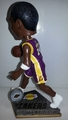 Kobe Bryant (Los Angeles Lakers) 2015 Springy Logo Action Bobble Head Forever Collectibles