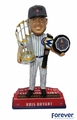 Kris Bryant (Chicago Cubs) 2016 Champ/MVP Trophy w/Belt & Marquee Base Bobblehead Exclusive