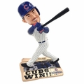 Kris Bryant (Chicago Cubs) 2016 World Series Champions Newspaper Base Bobble Head by Forever Collectibles