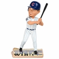 Kyle Schwarber (Chicago Cubs) (Chicago Cubs) 2016 World Series Champions Newspaper Base Bobble Head by Forever Collectibles