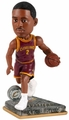 Kyrie Irving (Cleveland Cavaliers) 2015 Springy Logo Action Bobble Head Forever Collectibles