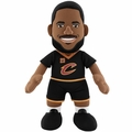 "LeBron James (Cleveland Cavaliers) (Black Jersey) 10"" Player Plush NBA Bleacher Creatures"