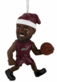 LeBron James (Cleveland Cavaliers) Forever Collectibles NBA Player Elf Ornament